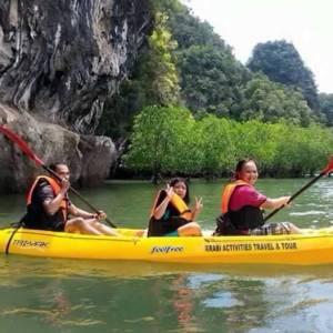 Ao Thalane - Kayaking in Krabi