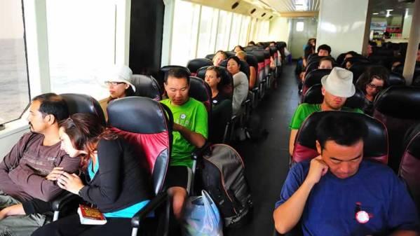 Phuket to Koh Samui Transfers - Ferry Standard Class