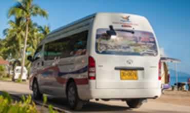Phuket to Koh Samui Transfers - Pick up Service by Minibus