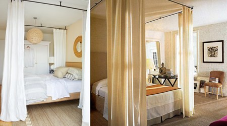 Ceiling Mounted Bed Canopies