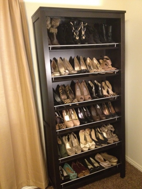 Easy DIY Shoes Storage Solution