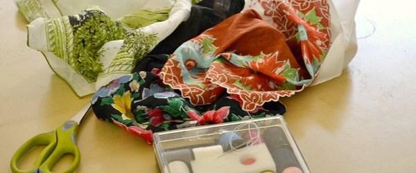 Handkerchief table runner ideas