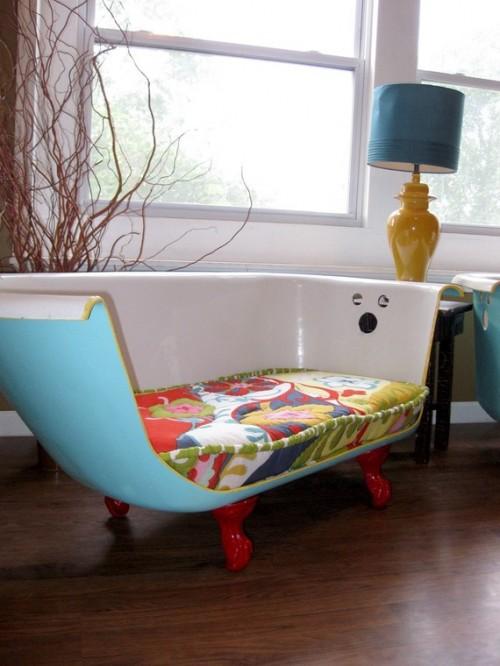 DIY Bathtub Couches