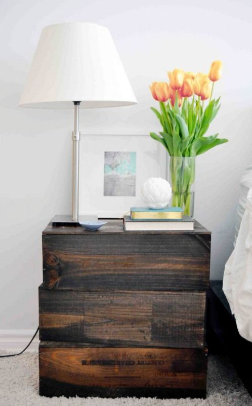 Easy Wood Nightstand