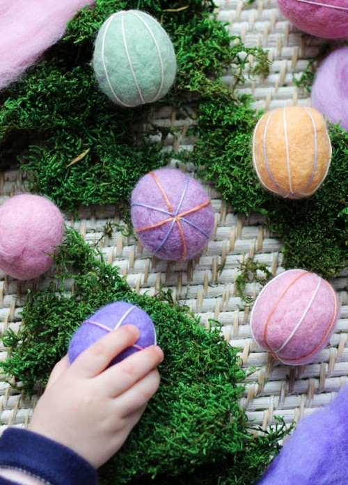 Felt Easter Eggs Pattern