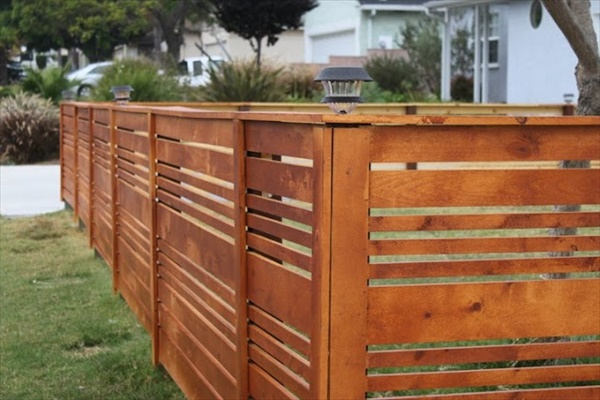 DIY fence installation project