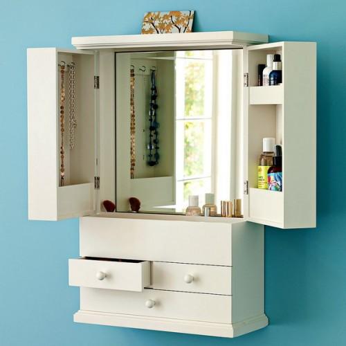How to organize your makeup vanity
