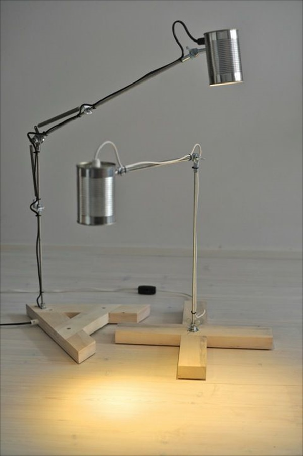 Awesome DIY table lamps