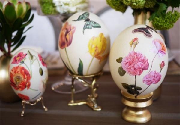 simple Easter decor idea