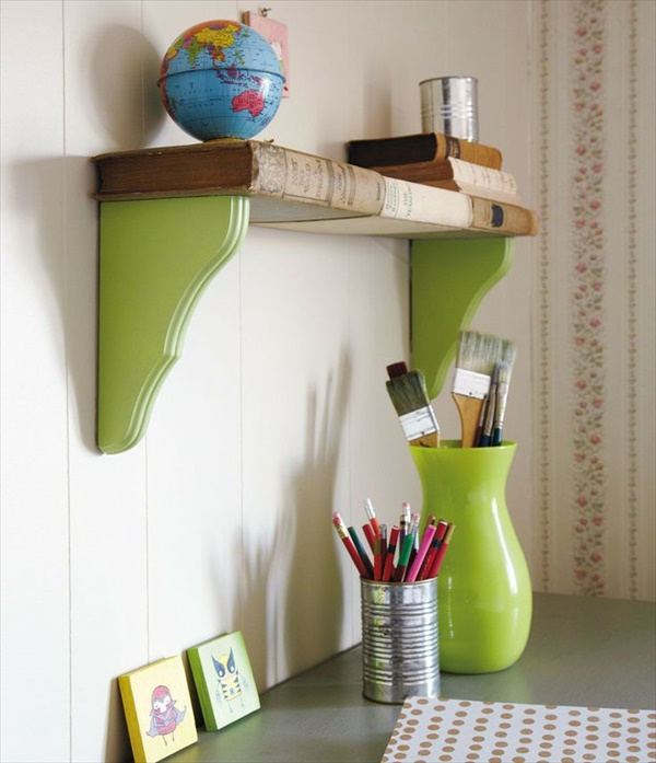 awesome DIY shelving designs