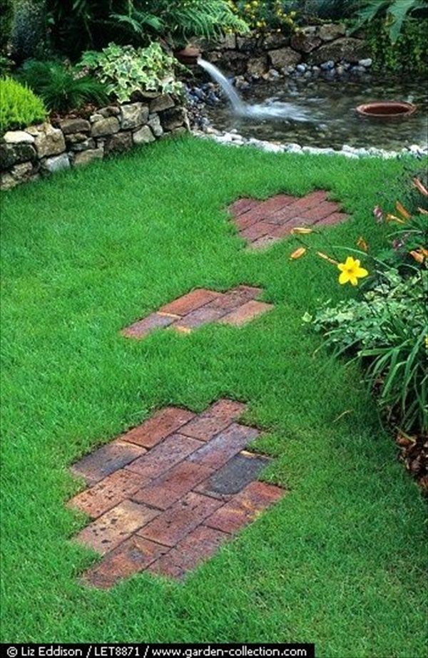 Simple DIY lawn decor plans