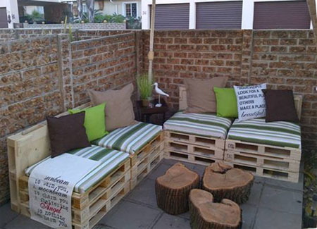 How To Make Garden Furniture Made From Pallets 10 diy outdoor furniture made of pallet | easy diy and crafts