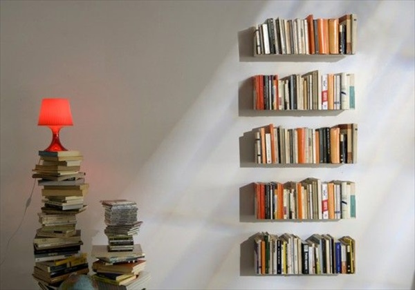 Easy Homemade wall shelves ideas