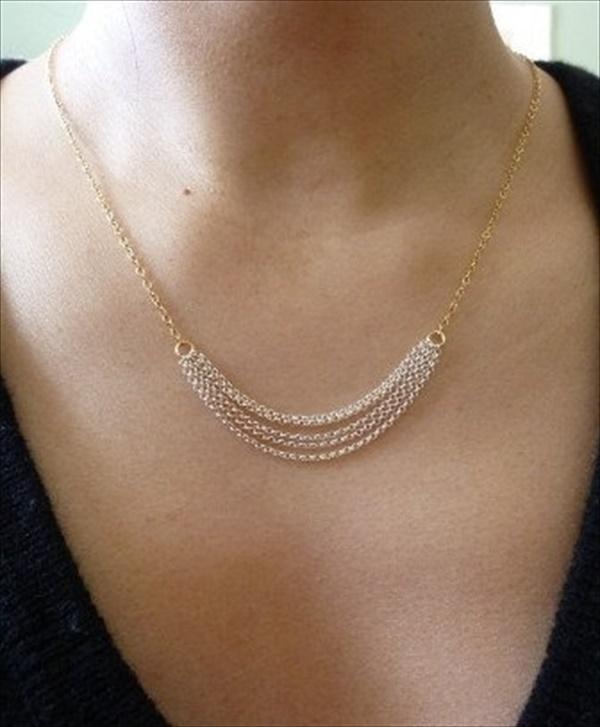 Easy DIY necklace design