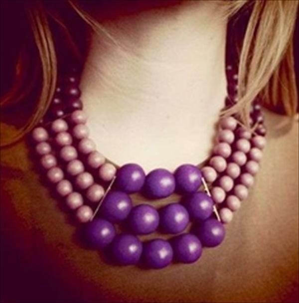 DIY necklace makeover