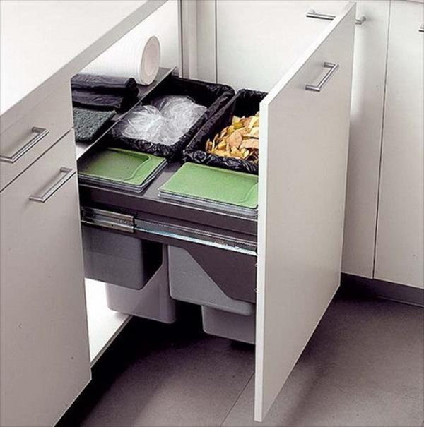 DIY kitchen organizer
