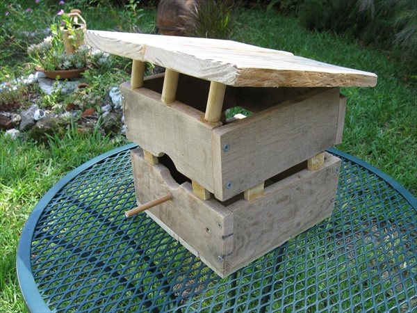Birdhouse ideas made from pallet