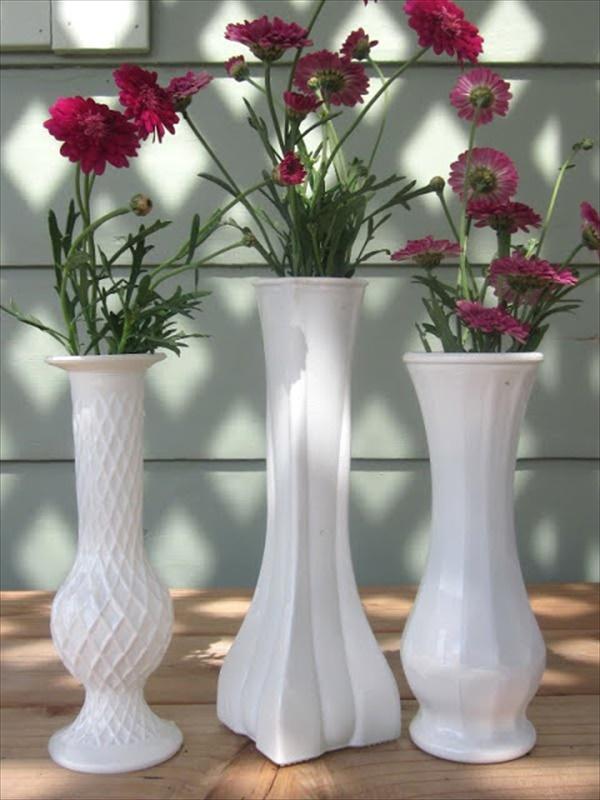 Easy homemade vase decor pots