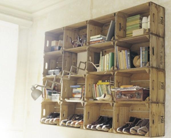 DIY Pallet Wall Shelving ideas
