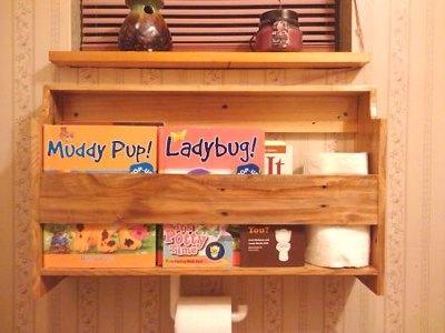 How to make pallet shelves