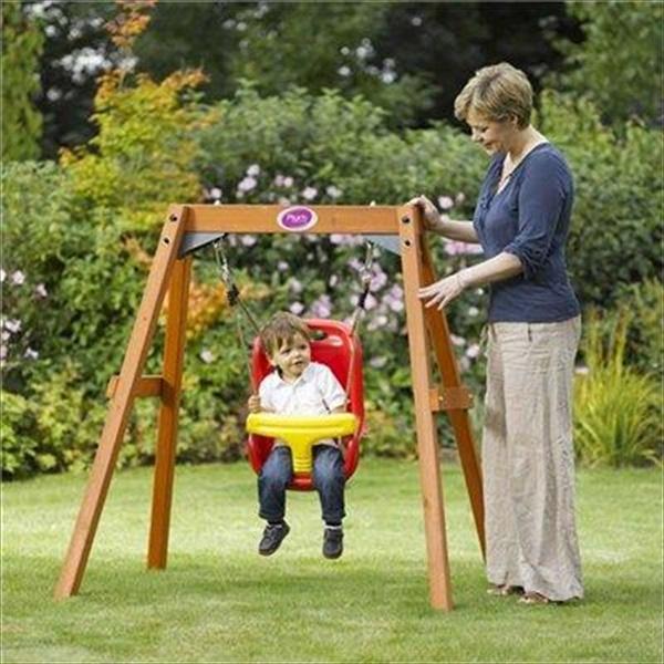 baby outdoor swings ideas