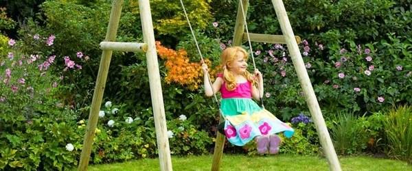 DIY Baby outdoor swing ideas
