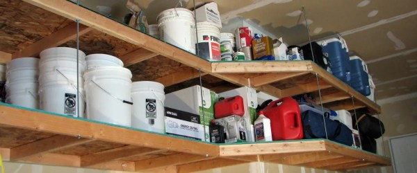 10 innovative diy garage shelving for storage solutions easy diy 10 innovative diy garage shelving for storage solutions solutioingenieria Images