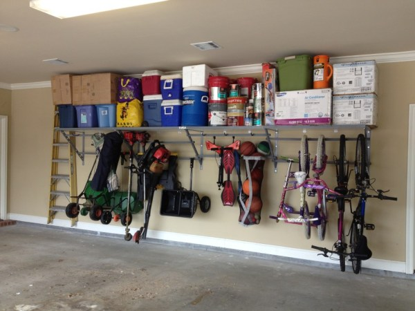 Awesome garage Shelving project
