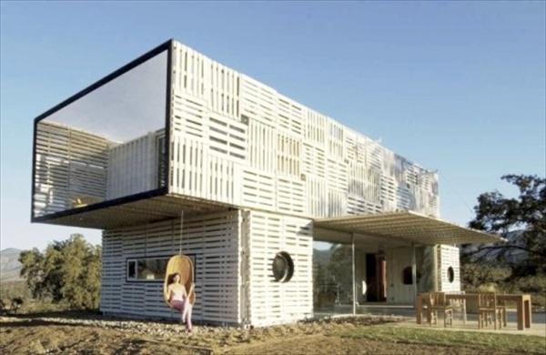 DIY innovative pallet house ideas