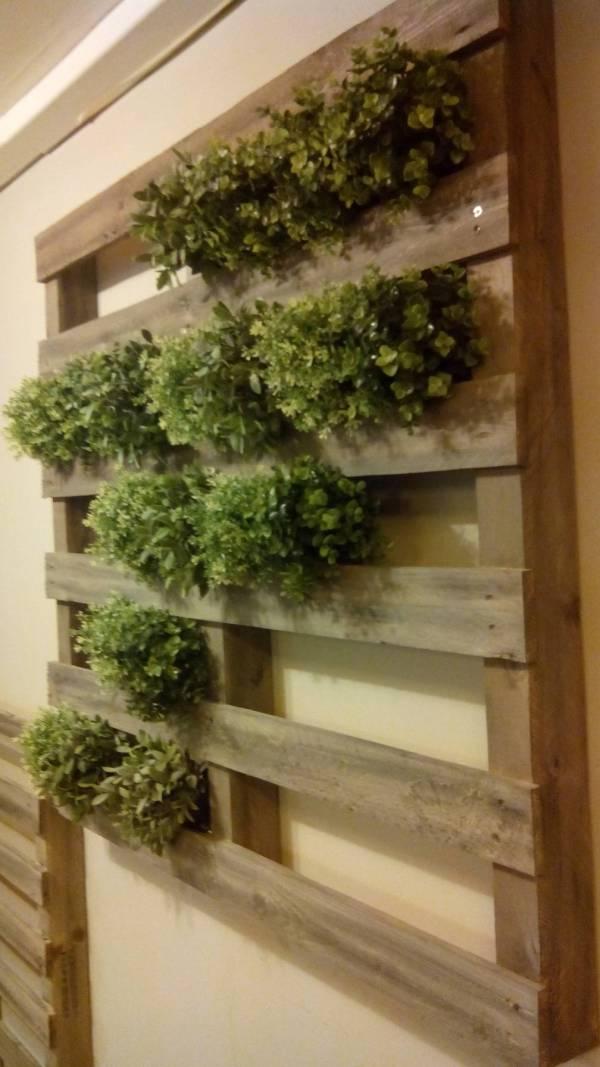 Unique pallet garden ideas
