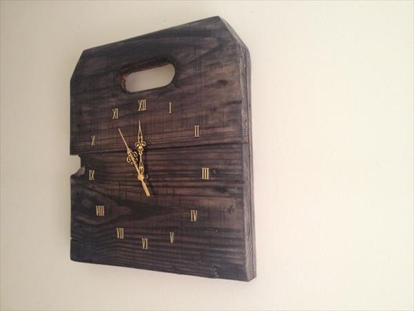 Diy Awesome Pallet Wall Clock Ideas Easy Diy And Crafts