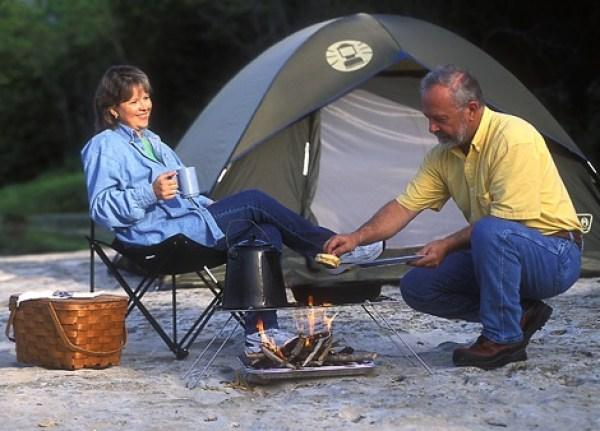 Easy Outdoor camping ideas
