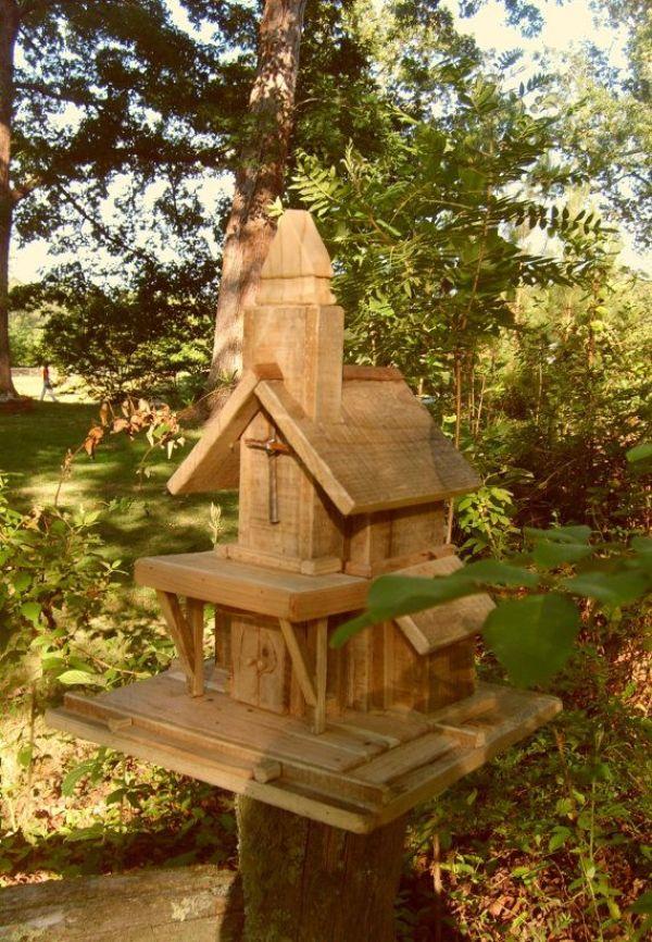 DIY unique birdhouse ideas