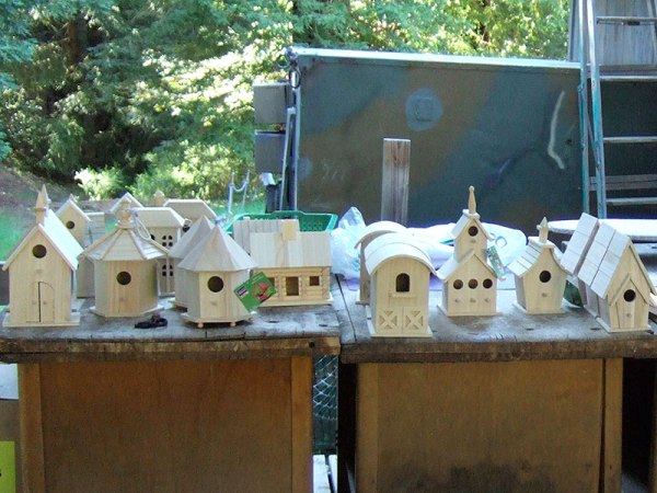 DIY cute birdhouse ideas