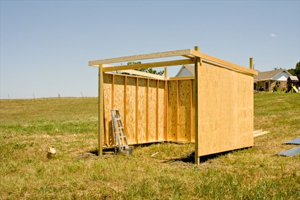 Create your own horse shelter
