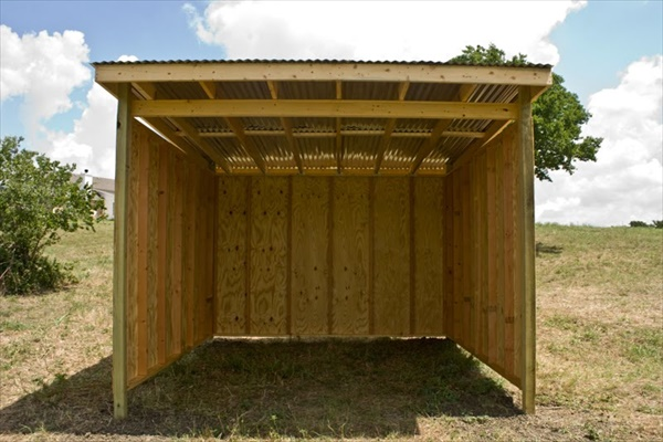 DIY Horse shelter project