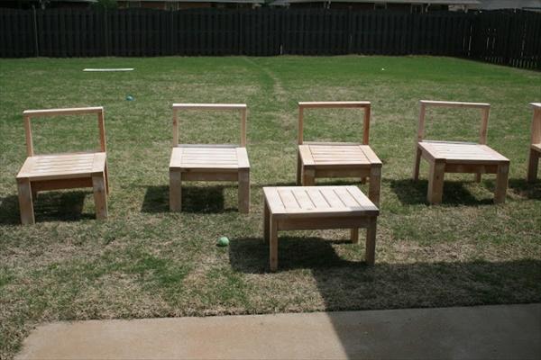 DIY lawn furniture