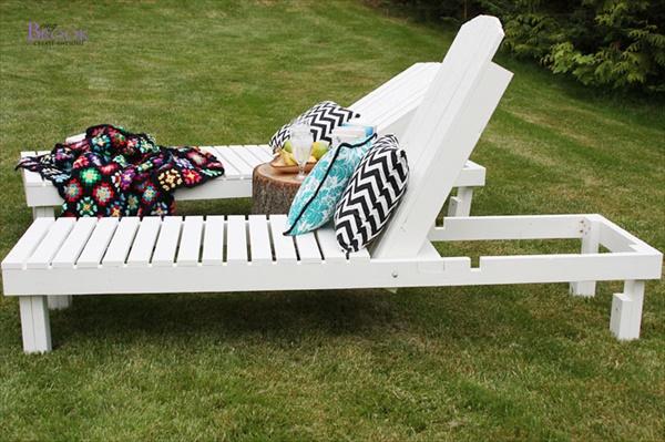 Homemade lawn furniture