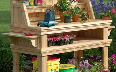 how to make a pallet table