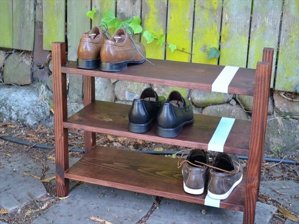 DIY shoes rack designs