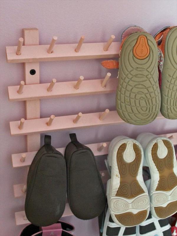 DIY Easy shoes storage ideas