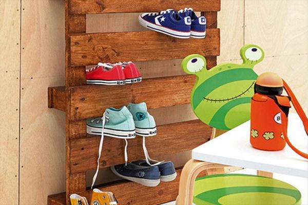 DIY Shoes storage solution
