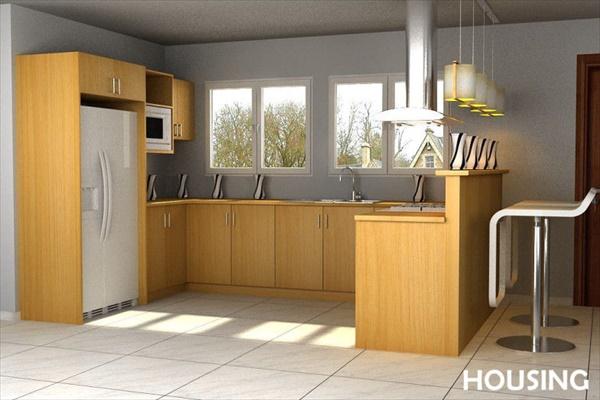 DIY Kitchen pantry shelves