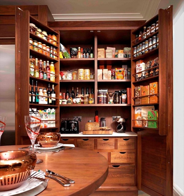 how to build a pantry