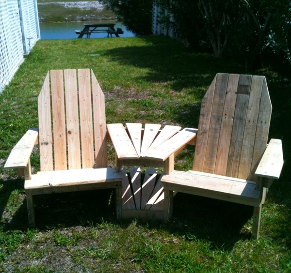 Easy plans for pallet chairs