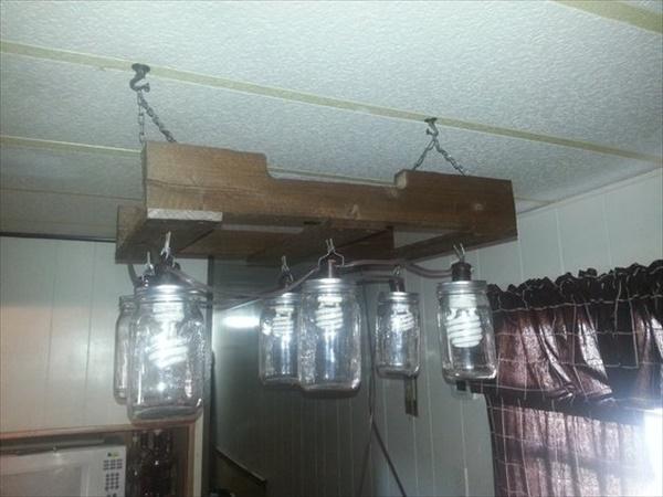 DIY Mason jar light project