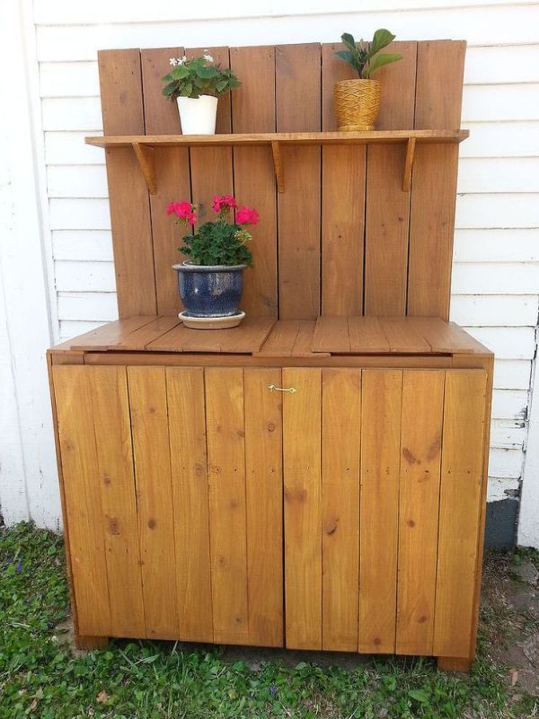 Cheap potting bench ideas