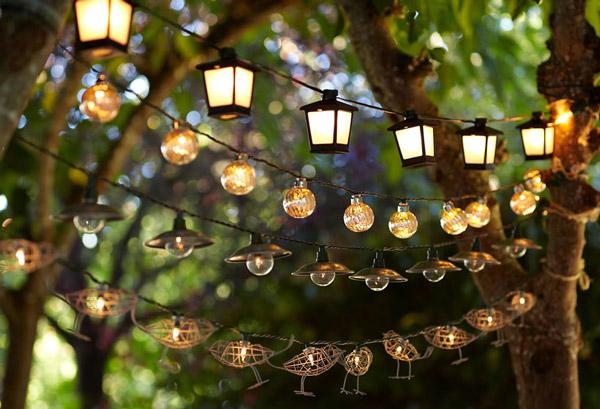 Easy Homemade outdoor lighting