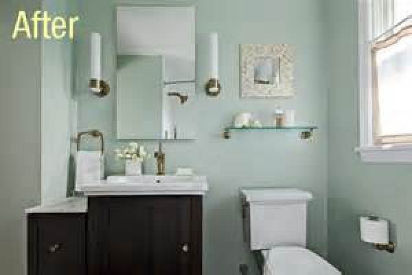 DIY bathroom design