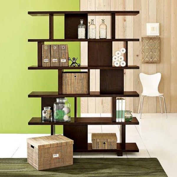 DIY unique bookshelves ideas